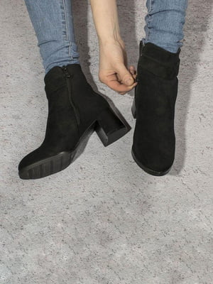 Ботинки черные | 5648873
