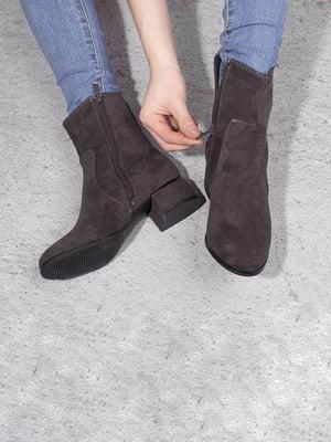 Ботинки серые | 5648875