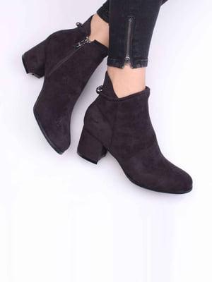 Ботинки фиолетовые   5649647