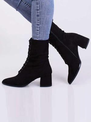 Ботинки черные | 5650392