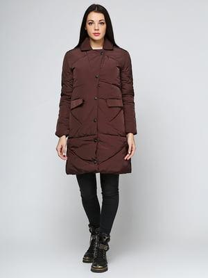 Пальто коричневое | 5657396