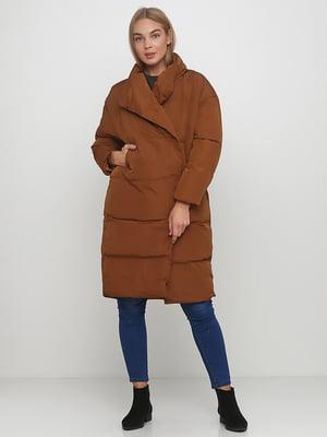 Пальто коричневое | 5657405