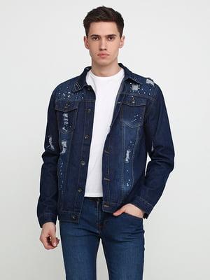Куртка джинсовая синяя | 5657412