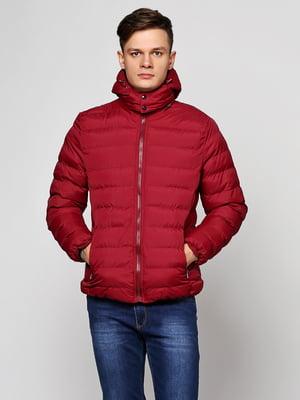 Куртка бордовая | 5657422