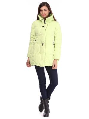 Куртка салатова | 5657427