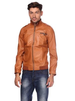 Куртка коричневая   5657431