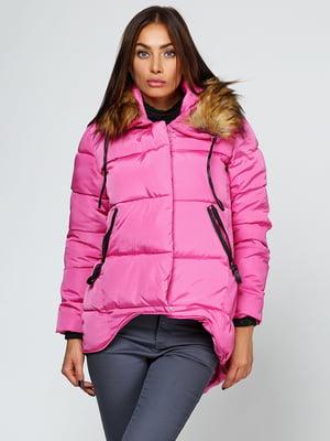 Куртка рожева | 5657436