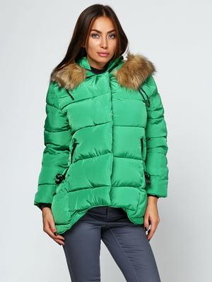 Куртка зелена | 5657438