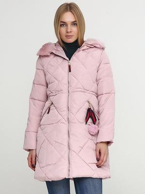 Пальто розовое | 5657453