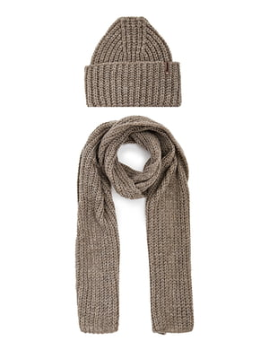 Комплект: шарф і шапка | 5657682