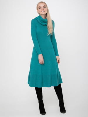 Платье цвета морской волны | 5657655