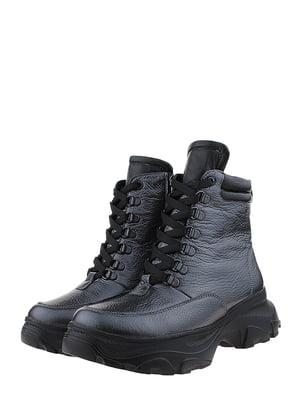 Ботинки графитового цвета | 5627850