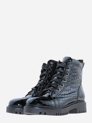 Ботинки черные с декором | 5641106