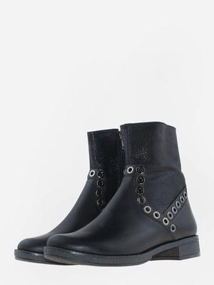 Ботинки черные | 5641107