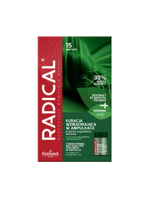 Догляд проти випадіння для ослабленого волосся (15 ампул)   5349417