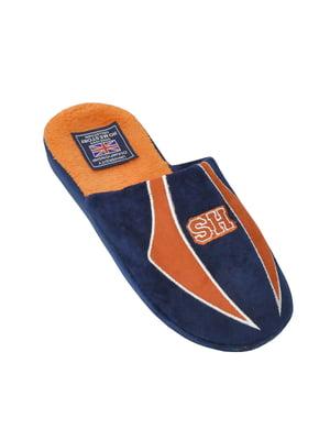 Тапочки синие   5661126