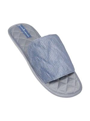 Тапочки голубые   5661137