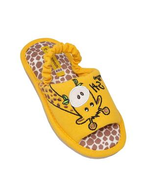 Тапочки желтые | 5661155