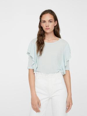 Блуза блакитна | 5517679