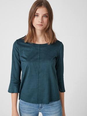 Блуза бирюзовая | 5535112