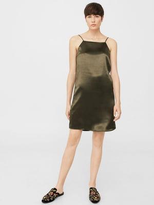 Сукня кольору хакі | 5535362