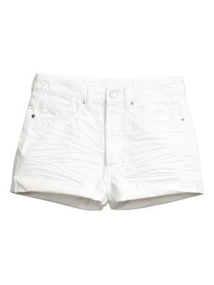 Шорты белые джинсовые | 5566171