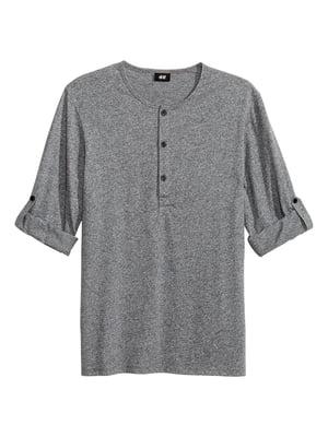Лонгслив серый | 5589761
