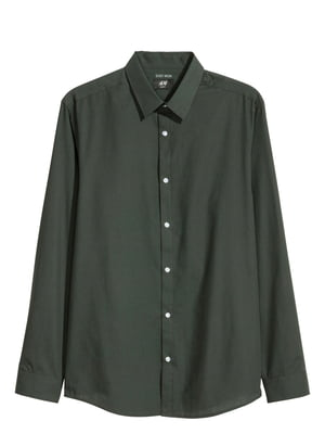 Рубашка темно-зеленая | 5622051