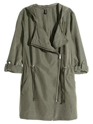 Куртка кольору хакі   5622069
