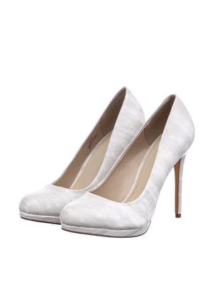 Туфлі сірі в розмитий принт | 5657746