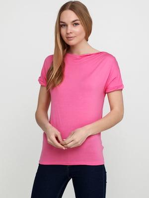 Футболка рожевого кольору | 5657952