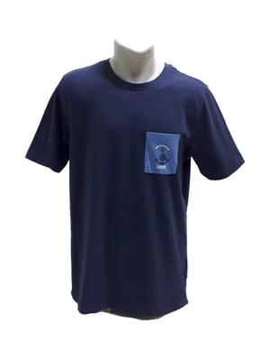 Футболка синя з нашивкою   5658064