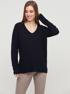 Пуловер синий | 5658094