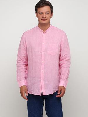 Рубашка розового цвета | 5658207