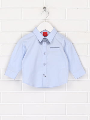 Рубашка голубого цвета | 5658233