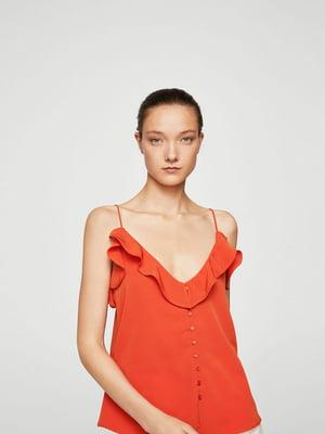 Топ морковного цвета | 5658414