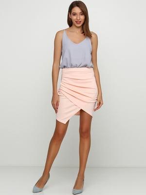 Спідниця персикового кольору | 5658473