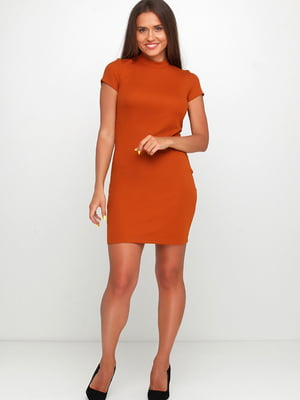 Сукня коричневого кольору | 5658736