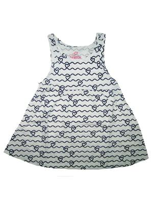 Сукня біла з орнаментом | 5658748