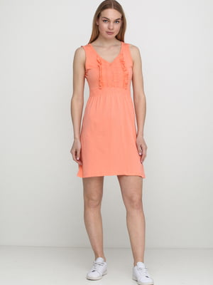 Платье кораллового цвета   5658749