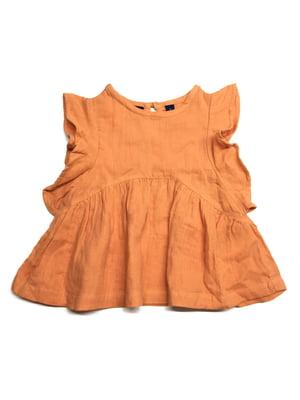 Платье морковного цвета | 5658751