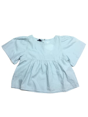Платье голубого цвета в полоску   5658752