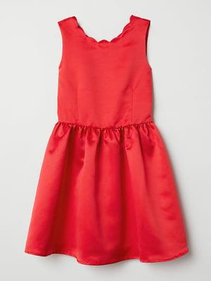 Платье красного цвета   5658769
