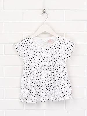 Сукня біла в горошок | 5658806