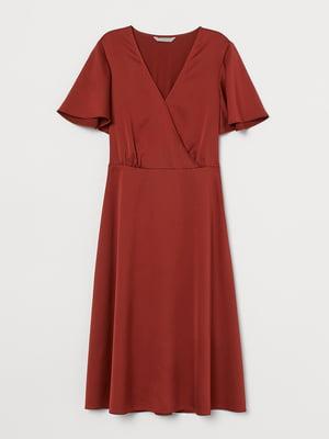 Сукня теракотового кольору | 5658814