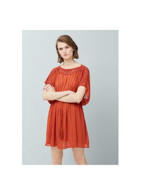 Платье терракотового цвета   5658846