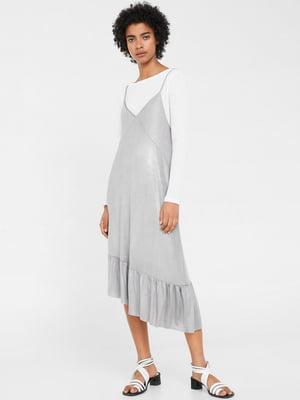 Платье серое | 5658928