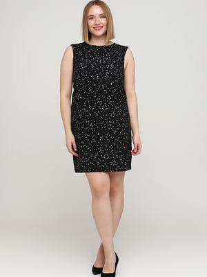 Сукня чорна з малюнком | 5658948