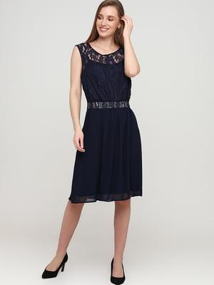 Платье синее | 5658949