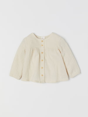 Блуза бежевого кольору | 5658980